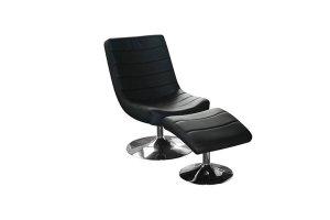 Arizona Black Easy Chair