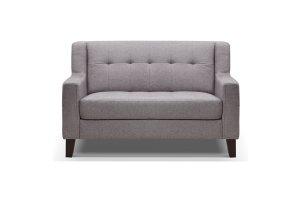 Ascot Grey Fabric 2 Seater Sofa