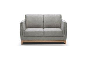 Dylan Light Grey Fabric 2 Seater Sofa