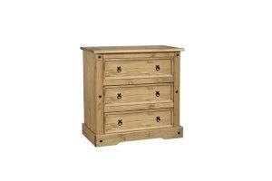 Cordoba 3 drawer chest