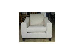 Mayfair Fabric Como Cream Armchair