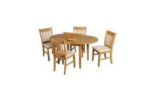 Cambridge Oak Extending Dining Set