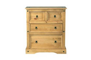 Cordoba 2+2 Drawer Chest