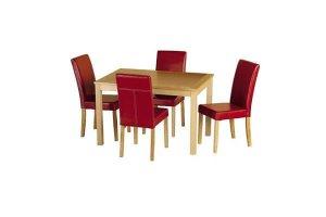 Delamere Red Dining Set