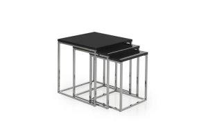 Ibiza Nest of Tables- Black