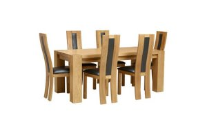 Neptune Dining Set with 6 Chairs
