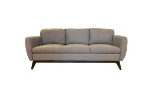 Molton Light Brown Fabric 3 Seater Sofa