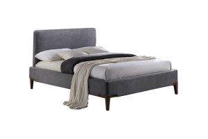 Sydney Grey Fabric Bed Frame