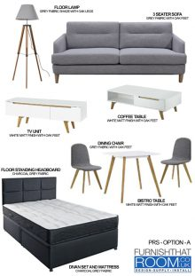 FURNITURE PACKAGES FOR PRS DEVELOPMENTS