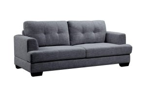 Annecy - 3 Seater Sofa Grey Fabric