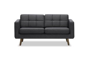 Azar 3 Seater Sofa Wenge Leg
