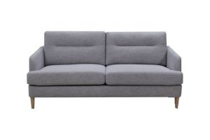 Isla - 3 Seater Sofa Grey Fabric