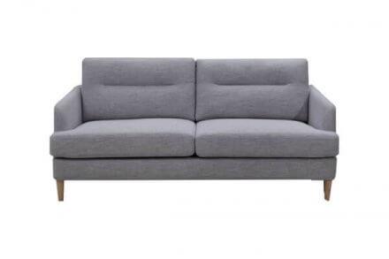 Isla - 3 Seater Sofa Grey Fabric