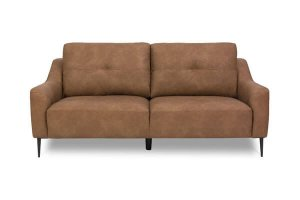 Kiwo - 3 Seater Faux Leather - Front