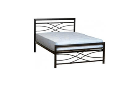 Small Double 4ft Metal Beds