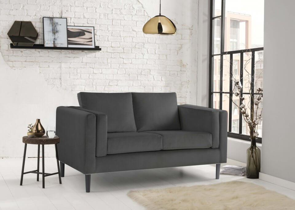 Charcoal Sofa 3 Seater